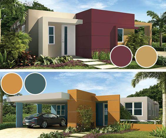 Colores Para Fachadas Modernas Tendencias 2019 2020