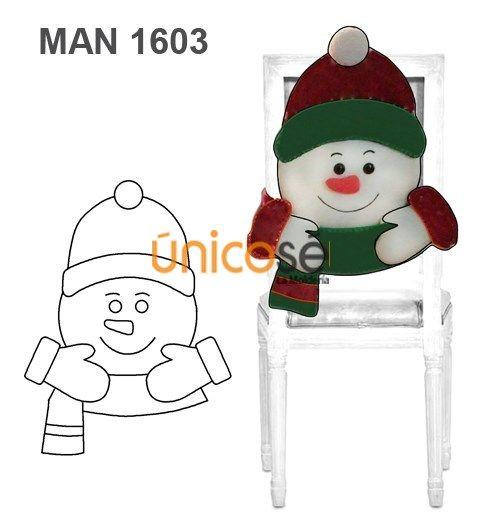 Moldes de muñecos navideños 2019 sencillos