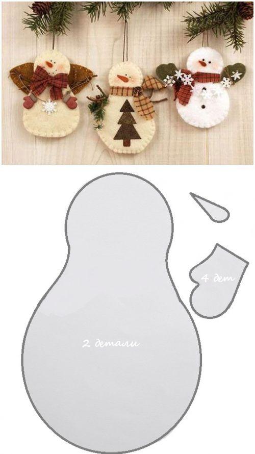 Moldes navideños gratis para descargar