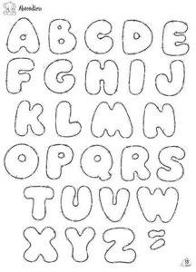 moldes para hacer letras