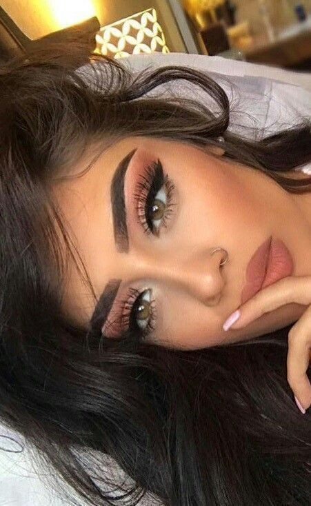 10 tutoriales de maquillaje para ojos cafe