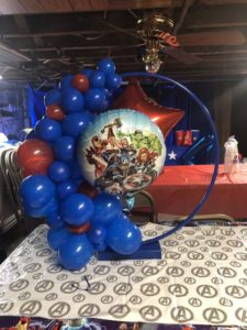 Aros decorados para fiestas infantiles
