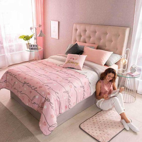 Decoracion de cuartos para jovenes mujeres sencillas