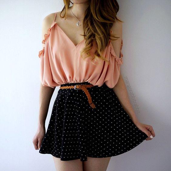 Faldas de moda juvenil 2019