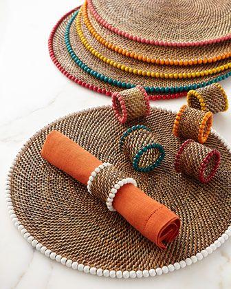 Ideas para decorar Posavasos y servilleteros con cuerda