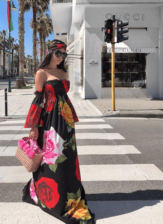 MAxi vestidos de moda - Vestidos largos