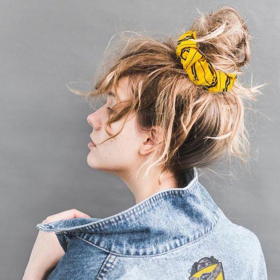 Scrunchies para el cabello