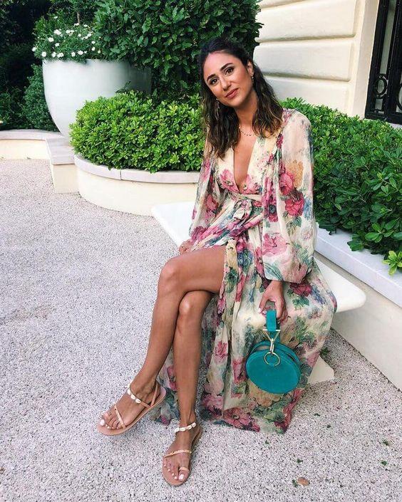 Vestidos largos de moda 2019