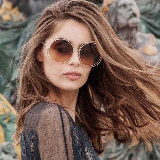 estilos de gafas para mujer super chic