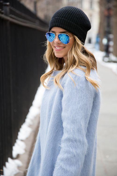 lentes de moda para mujer tipo aviador