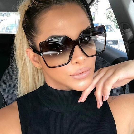 lentes negros de moda 2019 - 2020