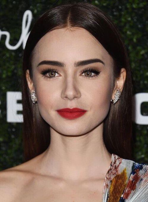 maquillaje para ojos cafes y piel blanca