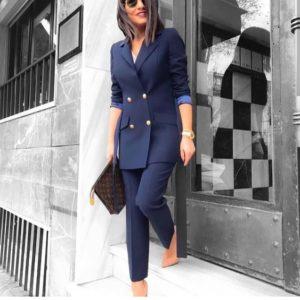 trajes sastres de mujer elegantes