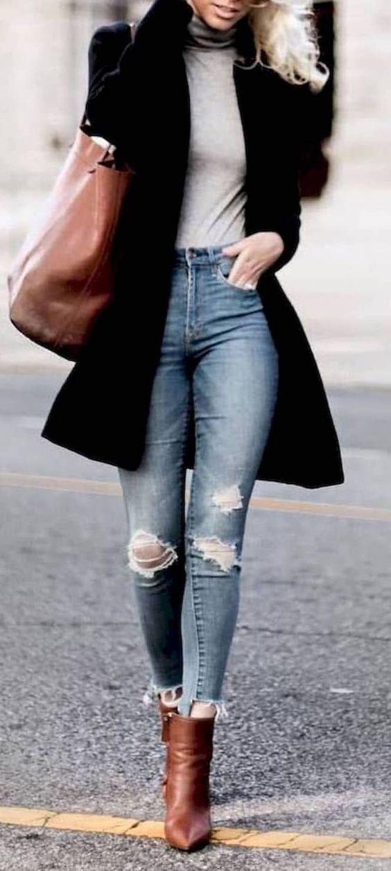 abrigos cortos para chicas modernas