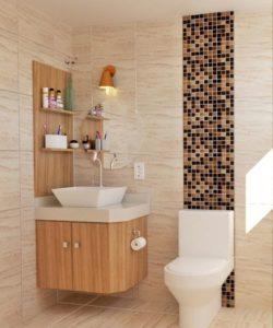 baños pequeños modernos y elegante