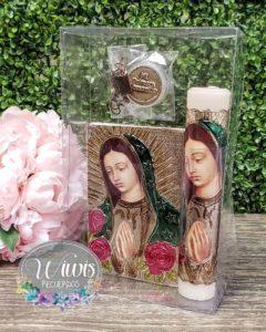 biblias y velas estampadas para primera comunion 2019 - 2020