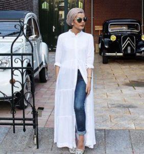 blusones largos de moda 2019 - 2020