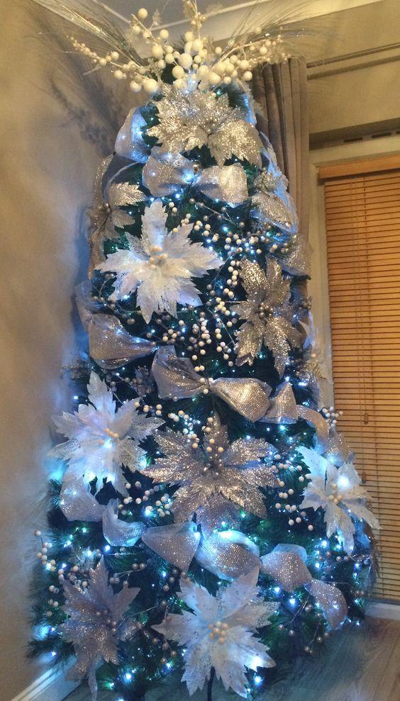 Decorar El Arbol De Navidad 2019.Arboles De Navidad Con Malla 2019 2020 Modernas Y Elegantes
