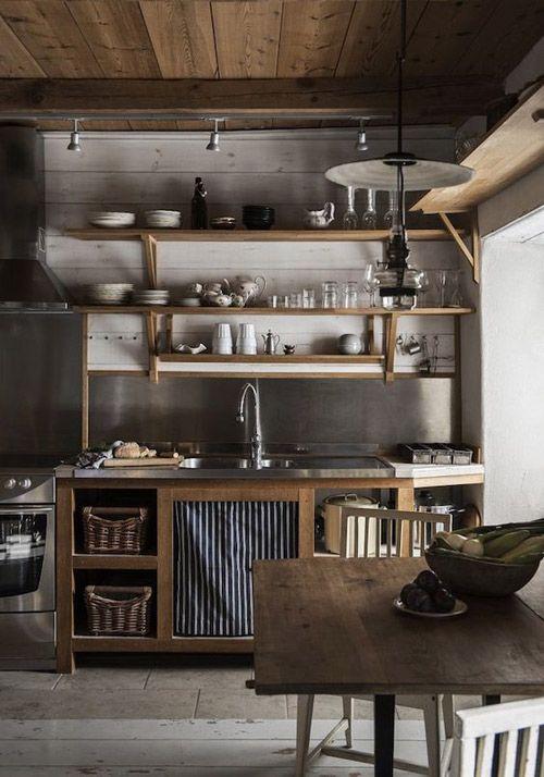 estantes de cocina abiertos economicos
