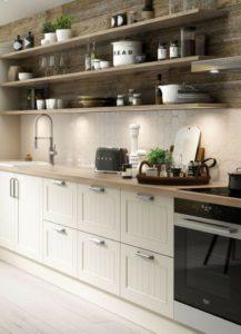 estantes para cocina modernos grandes para diseño abierto