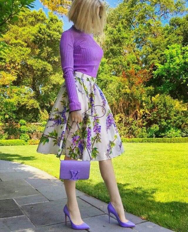 faldas estampadas para primavera verano con flores
