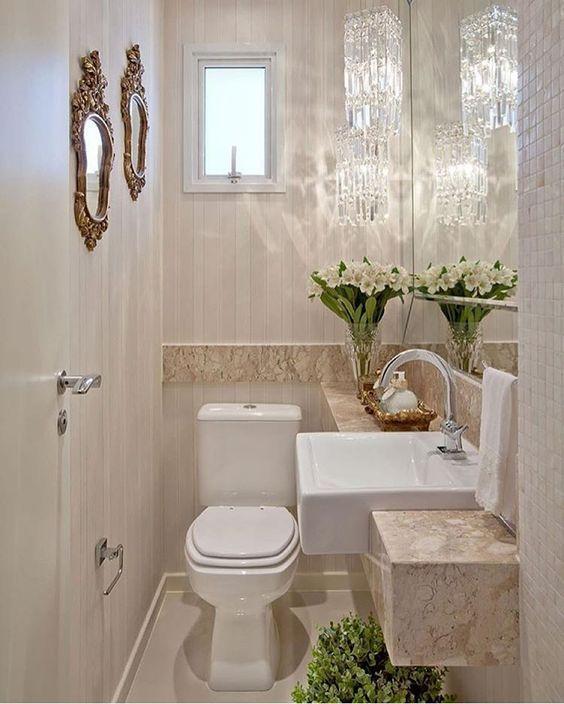ideas para que te inspires a decorar baños pequeños y modernos