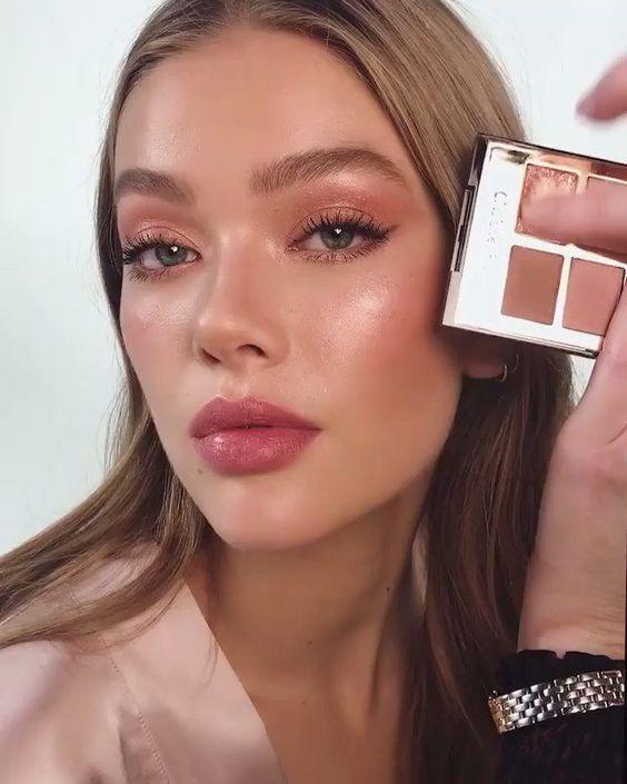 maquillaje natural ojos