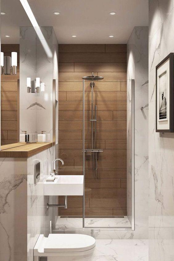 muebles para baños pequeños modernos