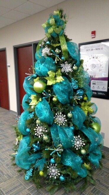 que es la malla para decorar el arbol de navidad