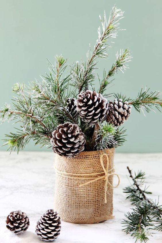 adornos navideños modernos - como hacerlos paso a paso