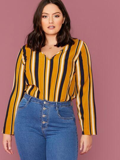 blusas de moda plus size
