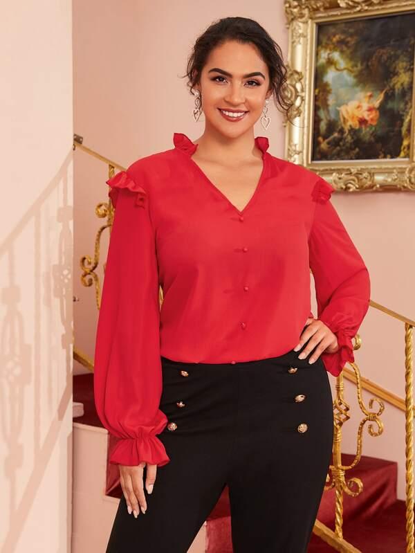 blusas para gorditas 2019 - 2020 de vestir