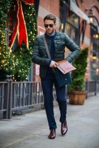chaquetas de moda para hombres otono - invierno