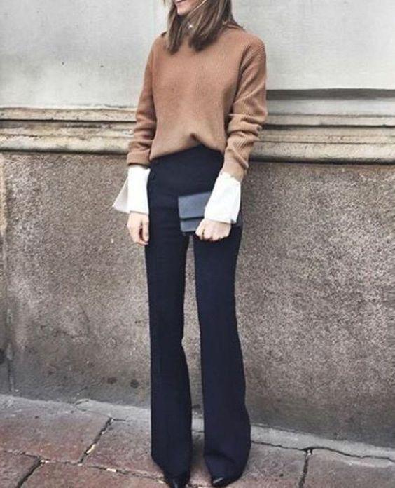 color marron para destacar outfits otoño - invierno