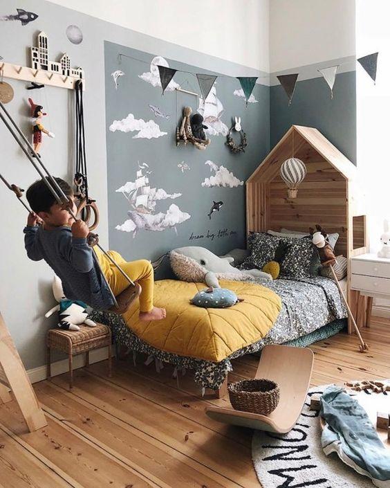 cuartos para niños modernos