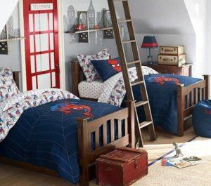 decoracion de cuartos infantiles dobles