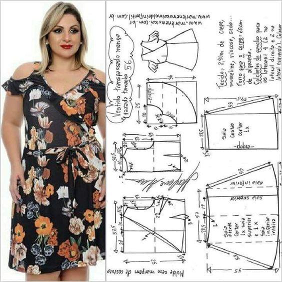 descargar patrones de vestidos para gorditas gratis