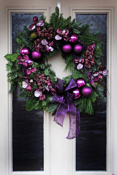 ideas para decorar coronas de navidad