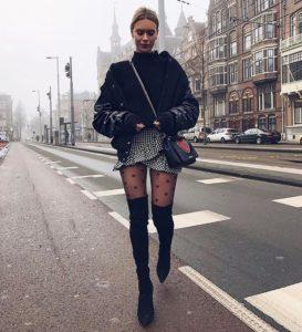 looks con faldas para lucir con estilo y abrigada en invierno