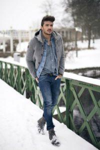 looks de moda para caballeros casuales para otoño - invierno