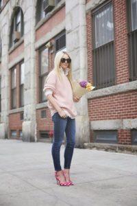 moda en rosa pastel para otoño - invierno