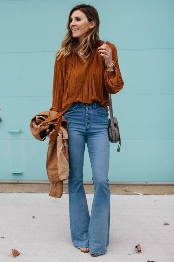 Jeans Oxford Como Usarlos Si Tienes 35 Anos O Mas Ideas Bonitas Para