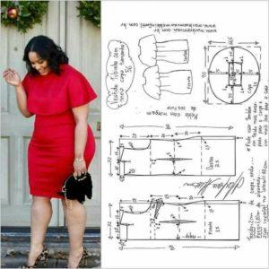 patrones tallas grandes para descargar de vestidos sencillos