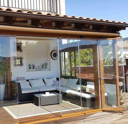 pergolas para el jardin con tejado