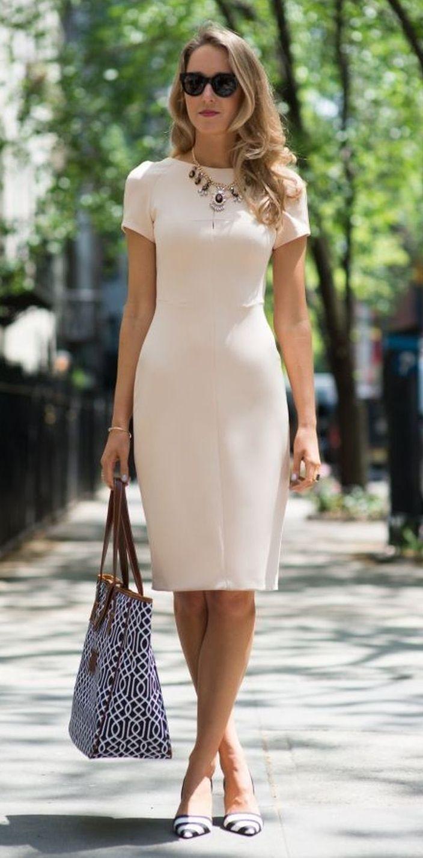 tendencias en vestidos para oficina 2019 - 2020
