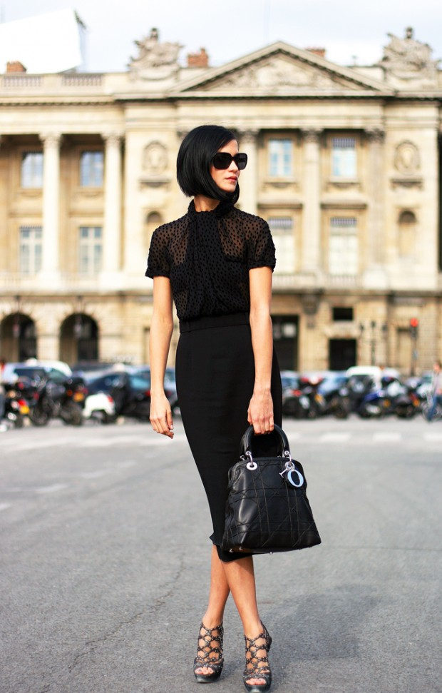 vestidos de oficina pegados para lucir con estilo