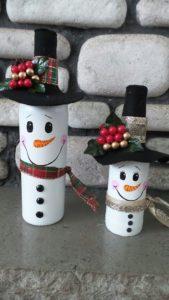 botellas plasticas decoradas navidad