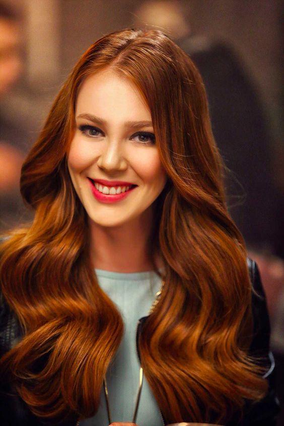 cabello otoño - invierno color cobre