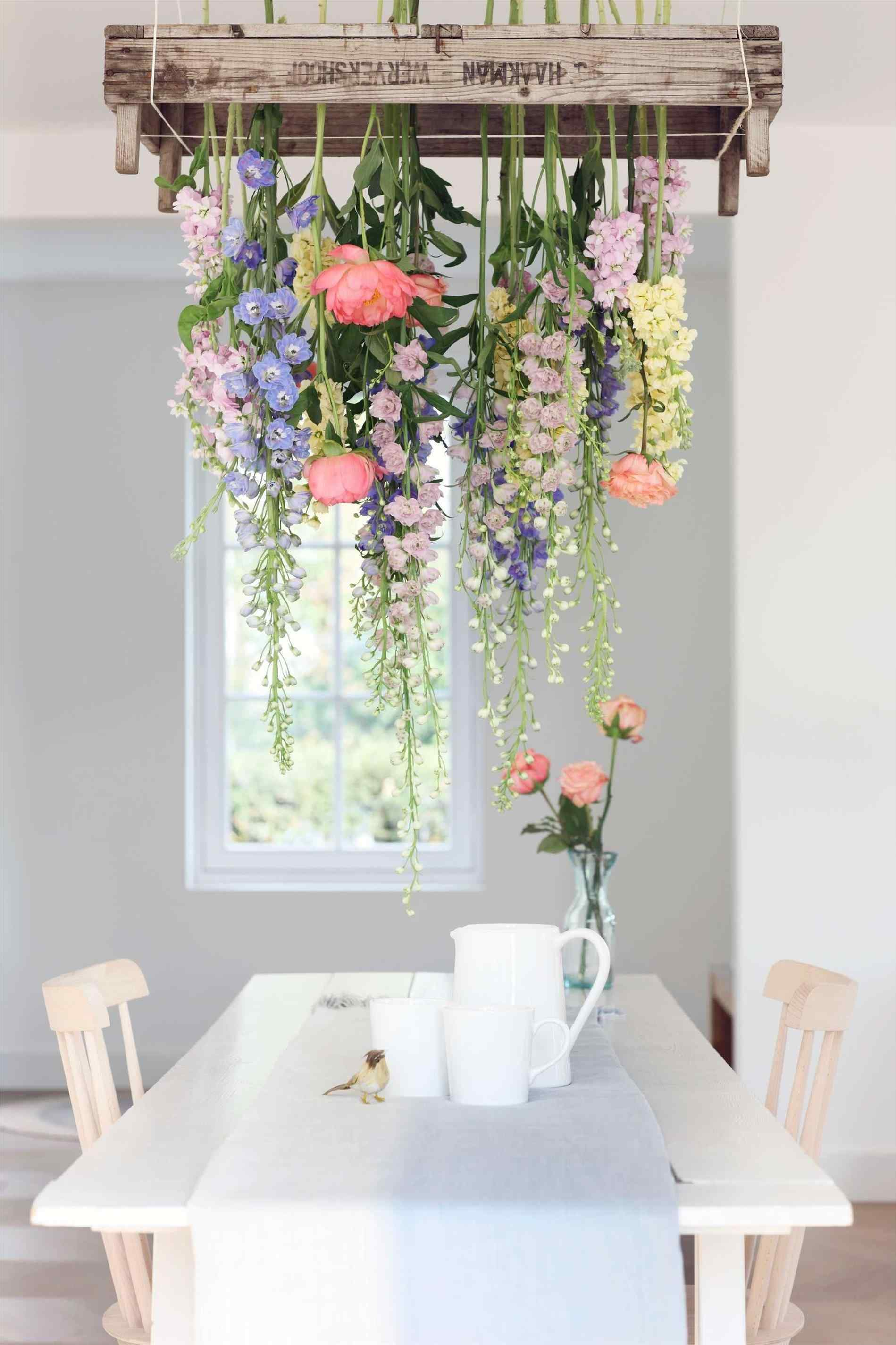 Como decorar con flores artificiales