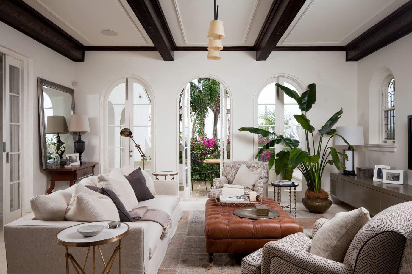 como decorar tu casa con flores y plantas